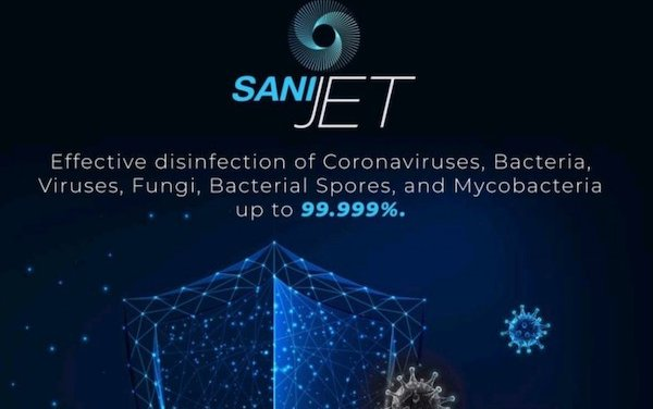 New 360 Cabin Disinfection System -Sanijet