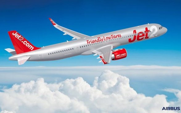 New Airbus customer - Jet2.com orders 36 A321neos