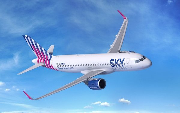 New Airbus customer - SKY express orders four A320neo