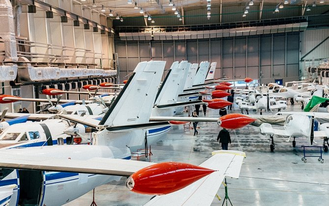 New aircraft assembly shop for L-410 and Daimond DA 42T was launched within the territory of the Uktus Airport