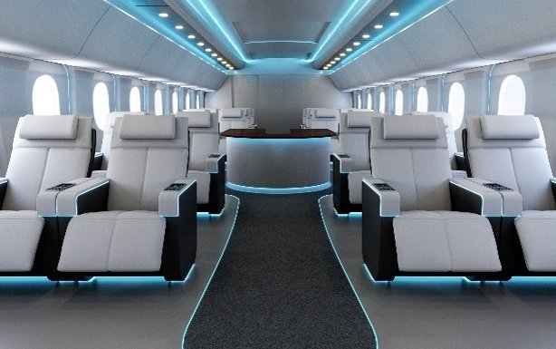 New Ambient Lighting for Aircraft Cabins introduced by Astronics