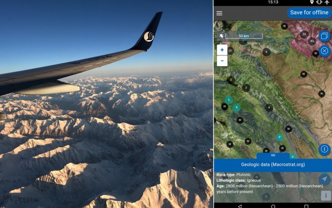 New app tells you what's outside the plane window