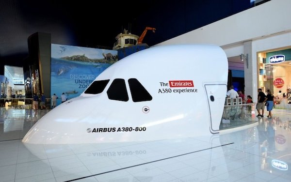 New aviation experiences at Dubai Mall by Emirates