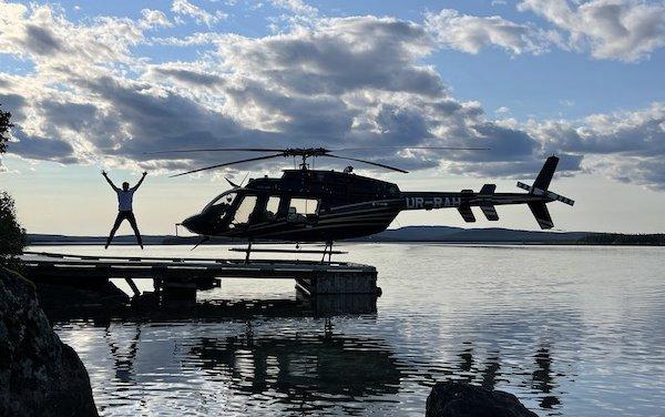 New Bell 407GXi customer took delivery by undertaking transatlantic flight