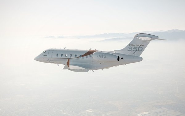 New Bombardier Challenger 350 joined Latitude 33 Aviation fleet