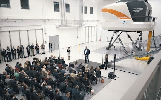 New CAE and easyJet training centre inaugurated in Milan