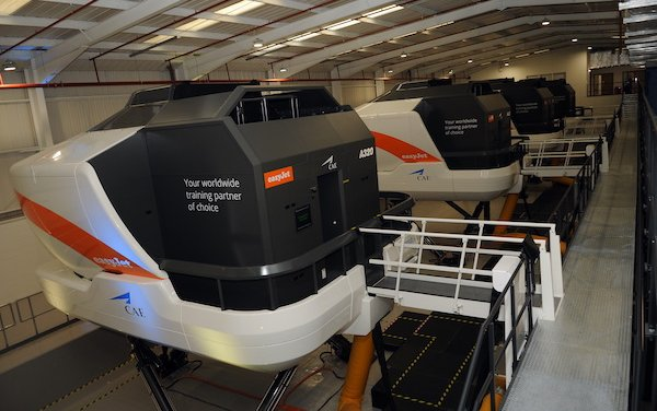 New CAE commercial aviation training centres in London Gatwick and Manchester