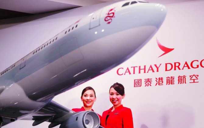 New Cathay Dragon Livery Takes Flight