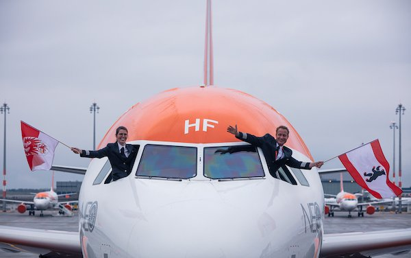 New chapter at BER: easyJet takes off with inaugural flight