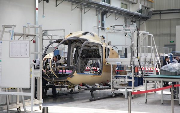 New chapter of Sino-European collaboration- China's Airbus H135 final assembly line starts operations