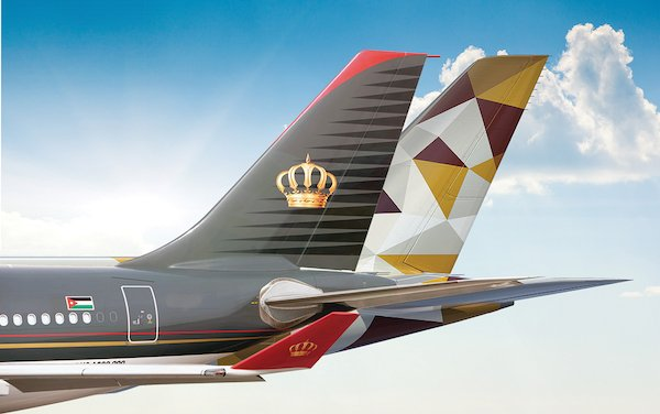 New Codeshare Partnership announced between Etihad Airways and Royal Jordanian