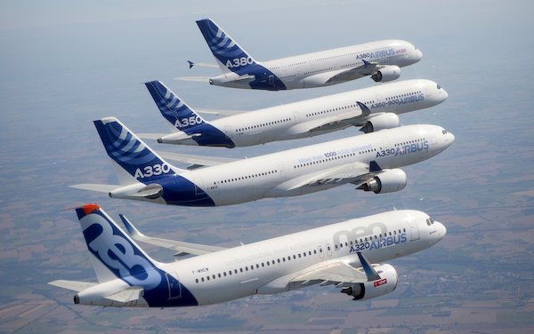New commercial aircraft delivery record in 2018 of Airbus
