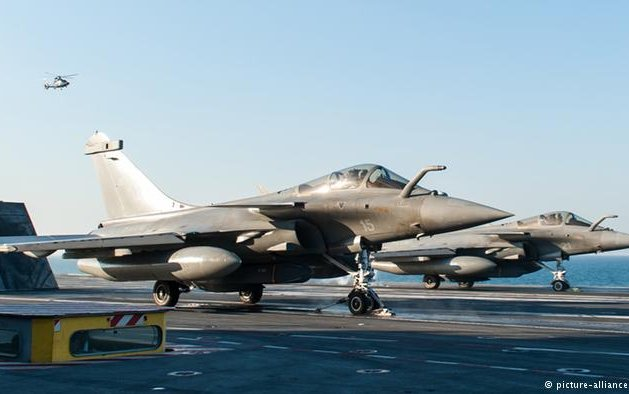 New France-India military aerospace joint venture