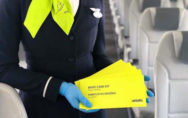 New health measures on airBaltic flights