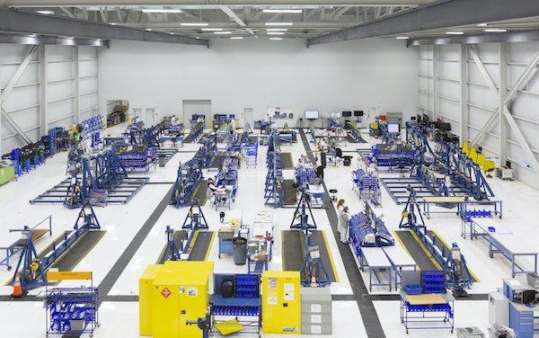 New Honda Aircraft Company wing production facility