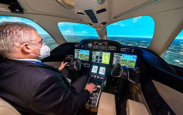 New HondaJet Elite flight training center in Farnborough