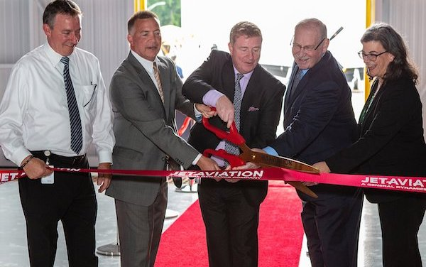 New Jet Aviation Teterboro hangar and renovated FBO are open!