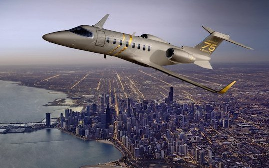 New Learjet 75 Liberty Full Interior Mock-up and much more from Bombardier