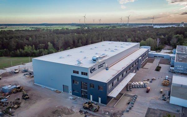 New logistics center of MTU Maintenance at Berlin-Brandenburg