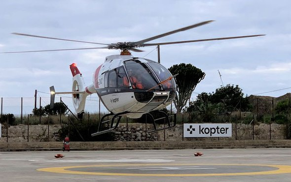 New main rotor configuration for Kopter SH09
