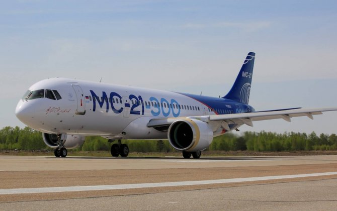 Αποτέλεσμα εικόνας για New MC-21-300 commercial airliner has completed maiden flight