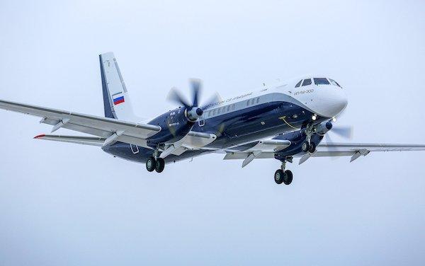 New IL-114-300 regional passenger aircraft made its maiden flight