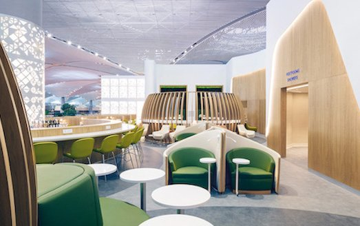 New SkyTeam lounge in Istanbul designed by Brandimage