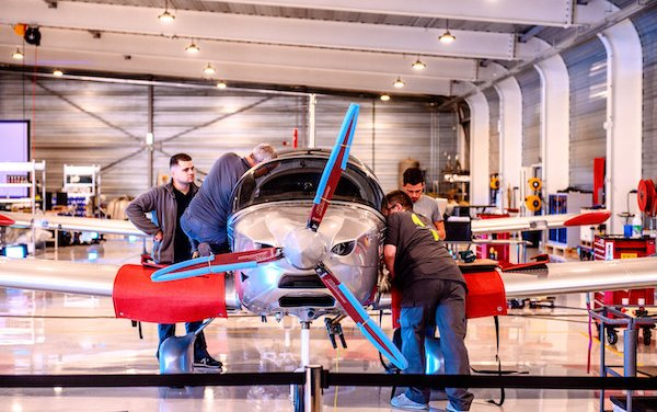 New Sonaca Aircraft new assembly site unveiled