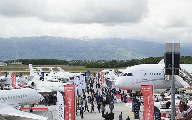 New Static Display Location Debuts at EBACE2017