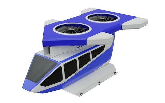 New urban Jetcopter VTOL air taxi promises to be the innovative ´star of the show´