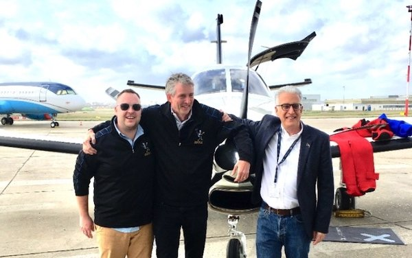 New York-Paris speed record with a TBM 930 is set