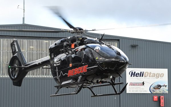 New Zealand Emergency Medical Services received EMS H145 helicopters
