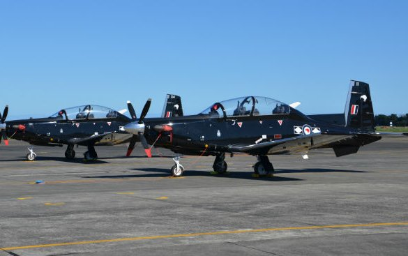 New Zealand picks up training pace with T-6C fleet