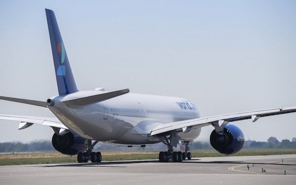 Newcomer - world2fly took first A350 delivery