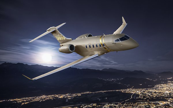 Newest member of the renowned aircraft family - Bombardier  Challenger 3500