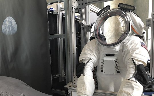Next Generation Space Suit system prototype for future missions