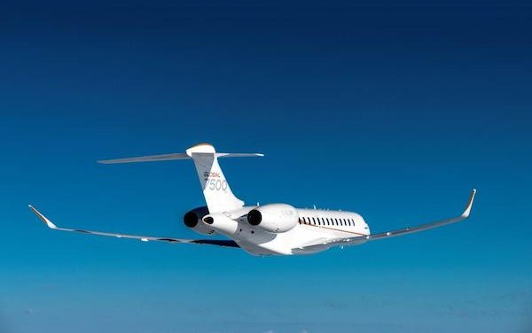 Next milestone - 50th Bombardier Global 7500 aircraft delivered
