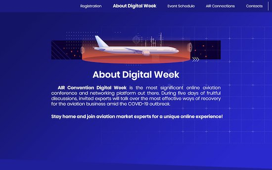 Next steps for aviation amid COVID-19: a survival guide - Air Convention Digital Week