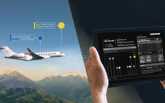 Next steps in Bombardier Smart Link Plus Connected Aircraft Program