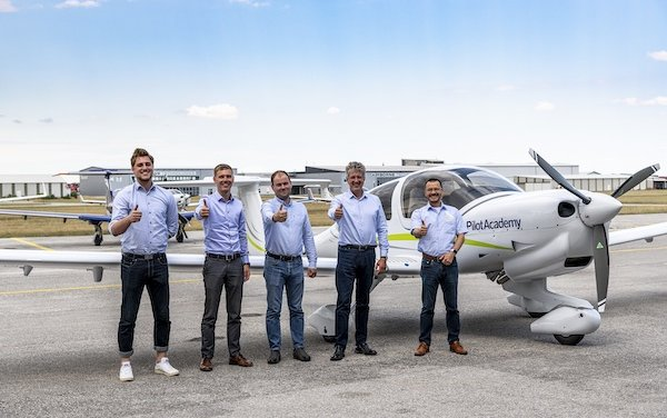 Ninth Diamond Aircraft received by airBaltic Pilot Academy