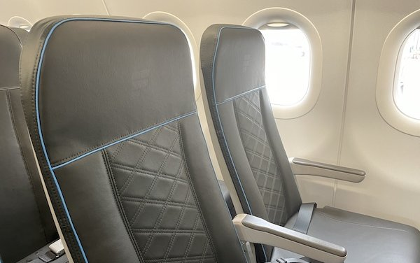 North American debut of Recaro Aircraft Seating SL3710 seat on Frontier Airlines A320neo aircraft