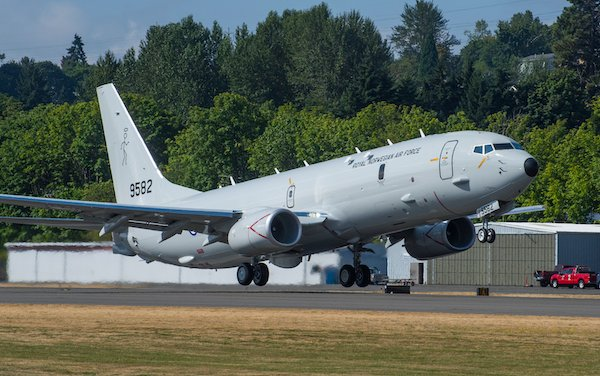 Norway first P-8A Poseidon performed maiden flight
