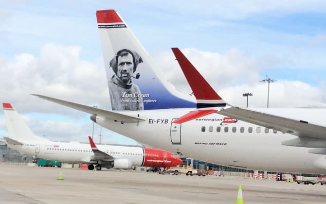 Norwegian to increase number of transatlantic flights from Ireland by over 35% next summer