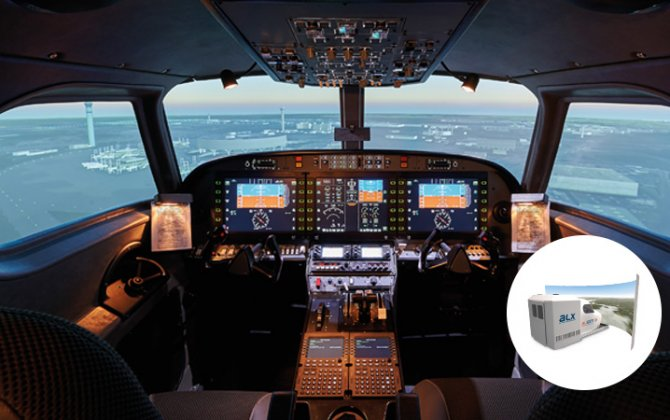 OMNI PORTUGUESE FLIGHT SCHOOL TRUSTS IN ALSIM AGAIN AND CHOOSES ALX'S FLIGHT SIMULATOR