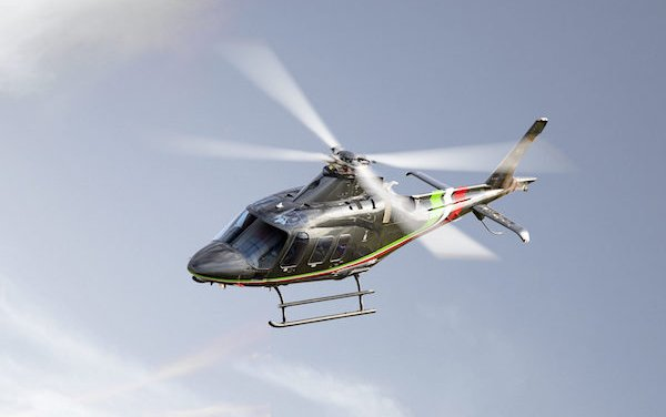 One of Monaco Yacht Show helicopter debuts - The first Leonardo AW109 VIP Trekker
