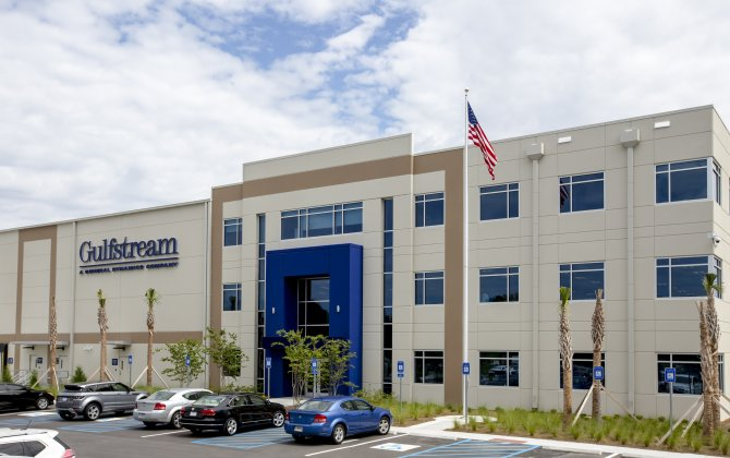 Operations underway at Gulfstream's new Product Support Distribution Center