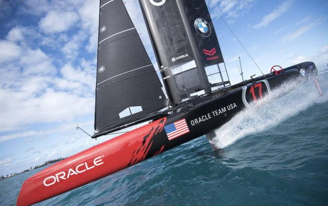 ORACLE TEAM USA and Airbus: warming up for the final race