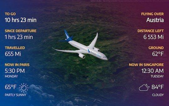Panasonic Avionics launches Arc Inflight Map Platform