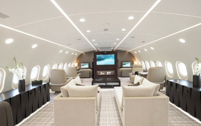Passenger Airplane Transformed Into A Private Paradise