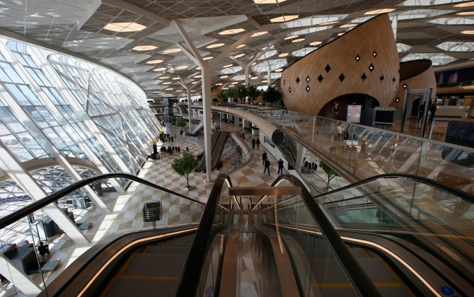 Passenger traffic of Heydar Aliyev International Airport approaches its next record high